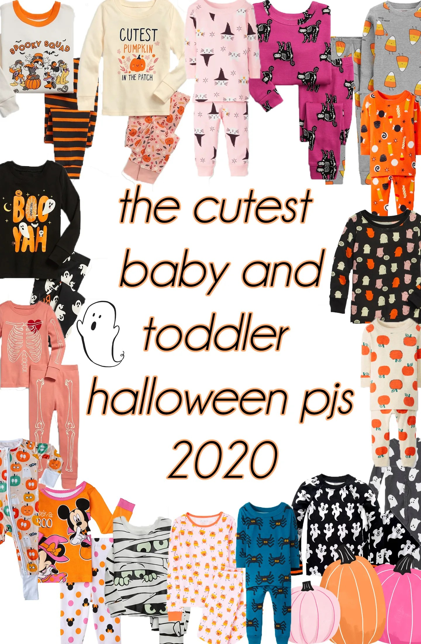baby and toddler halloween pajamas 2020