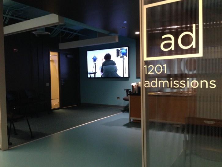 Admissions area video SAIC
