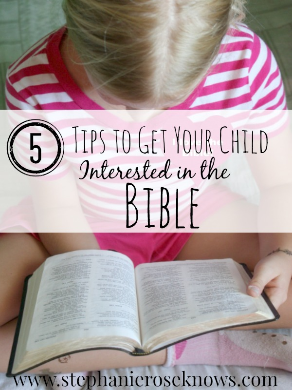 Bible Tips For Kids