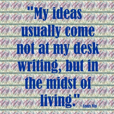 #inspiration #amwriting #RealLife  Once Again Creates an Idea for Another Book