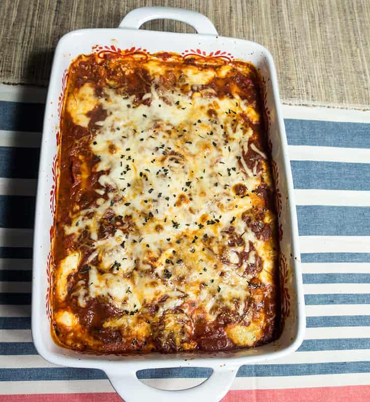 Italian Zucchini Roll ups