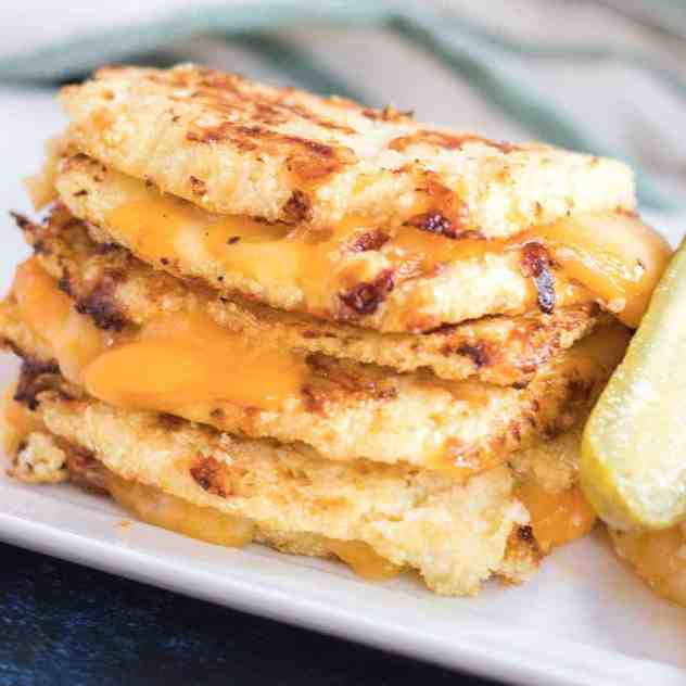 Cauliflower Bread Grilled Cheese