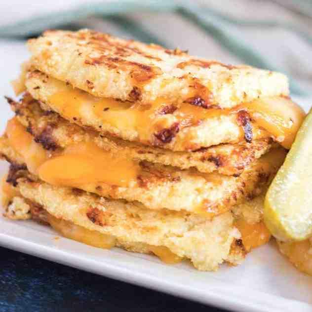 Cauliflower Bread Grilled Cheese