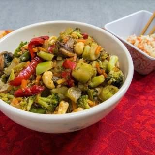 Chinese Vegetarian Stir Fry