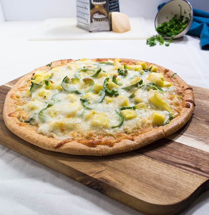 Vegetarian Pineapple Pizza