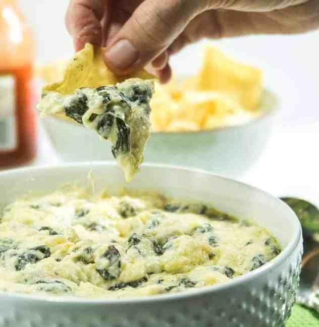 Warm Creamy Spinach Dip