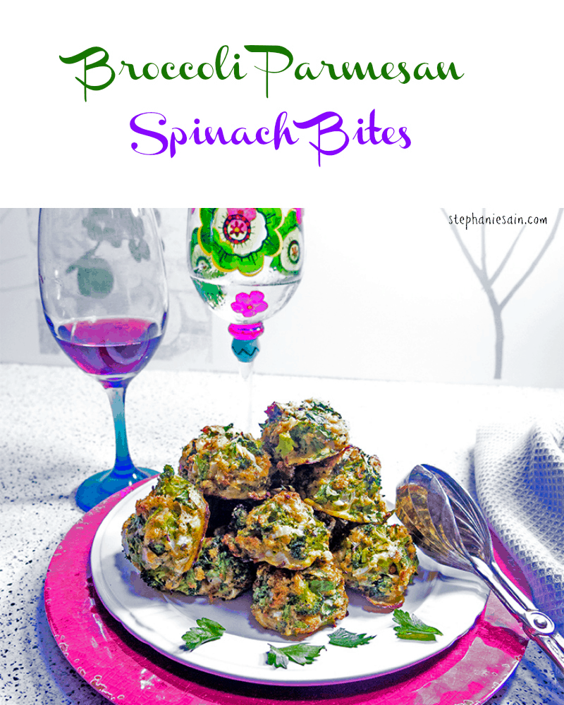 Broccoli Parmesan Spinach Bites