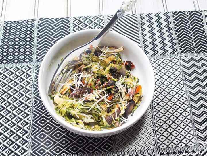 Parmesan Grilled Zoodles
