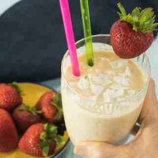 3 Ingredient Tropical Smoothie (Gluten Free)