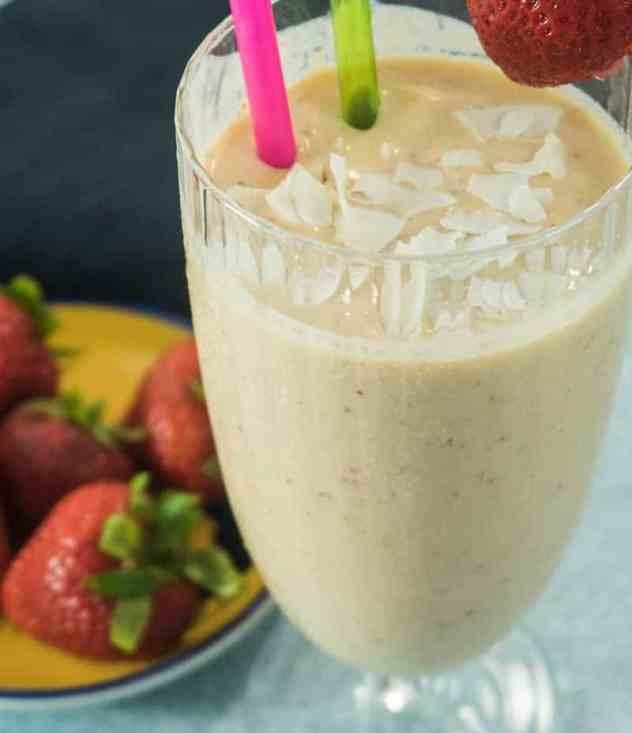 3 Ingredient Tropical Smoothie (Gluten Free)