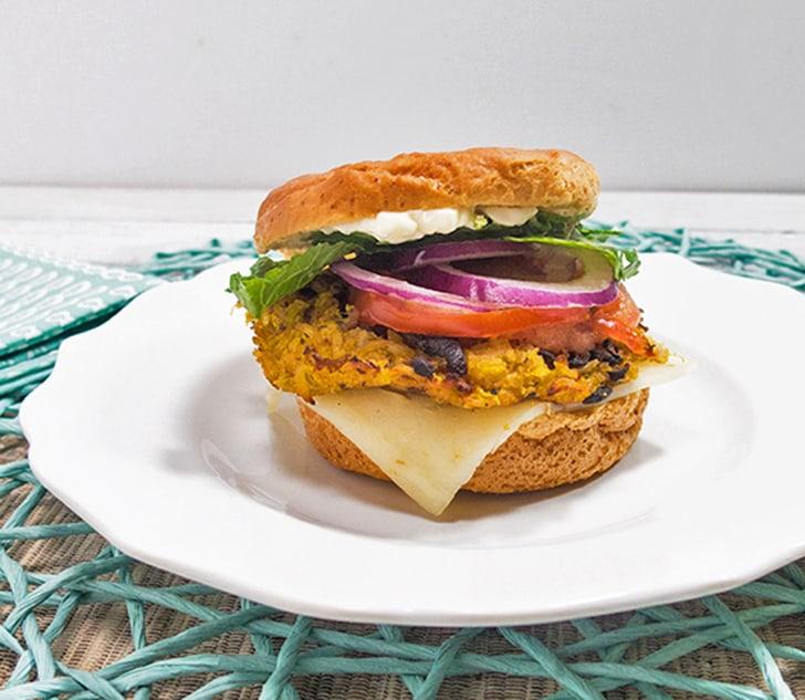 Butternut Squash Veggie Burgers