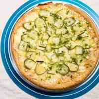 Garlic Lovers Dill Pickle Pizza