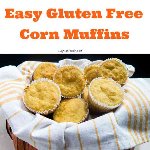 Easy Gluten Free Corn Muffins