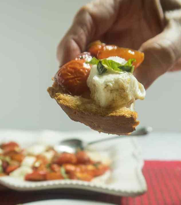 Tomato Basil Caprese Appetizer