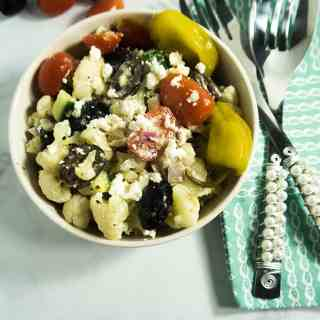 Greek Style Cauliflower Salad