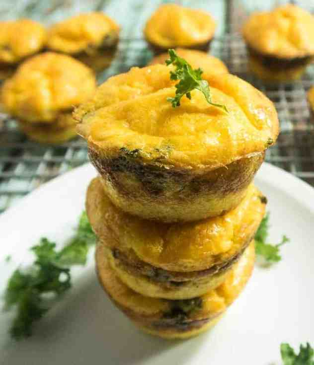 Mini Grit Crust Quiche Cups