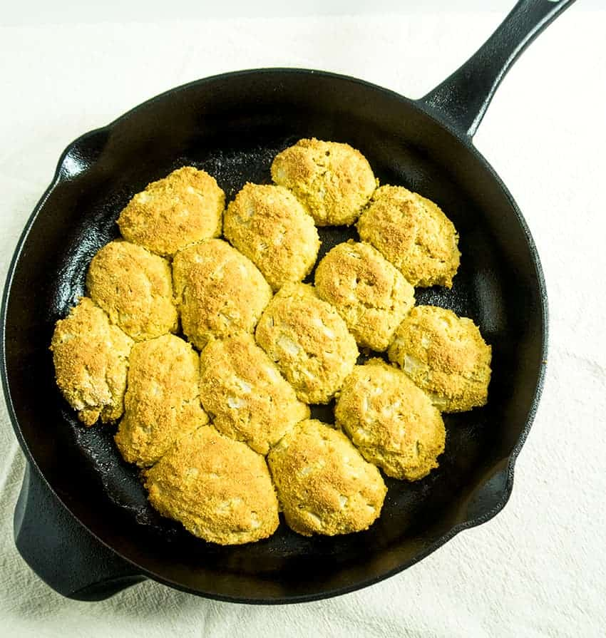 One Pan Skillet Baked Hush Puppies Apples For Cj