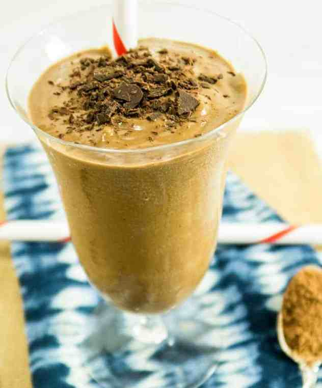 Creamy Chocolate Avocado Smoothie