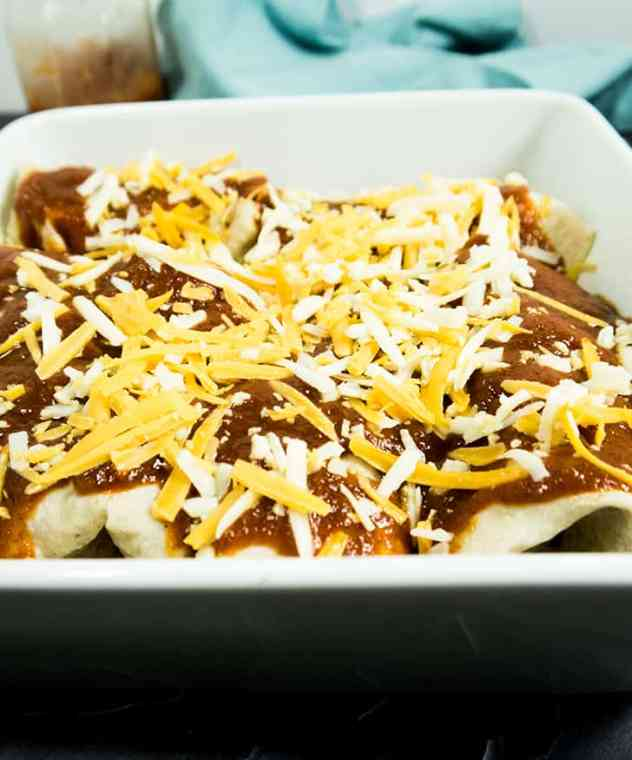 Black Bean & Corn Enchiladas