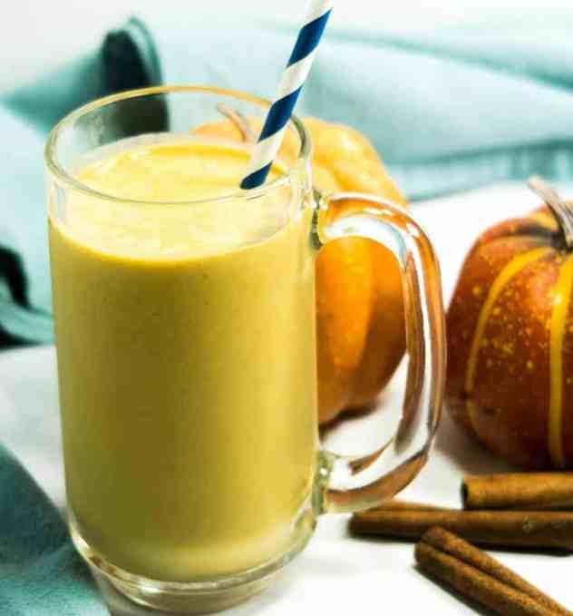 Pumpkin Pie Spice Coffee Smoothie