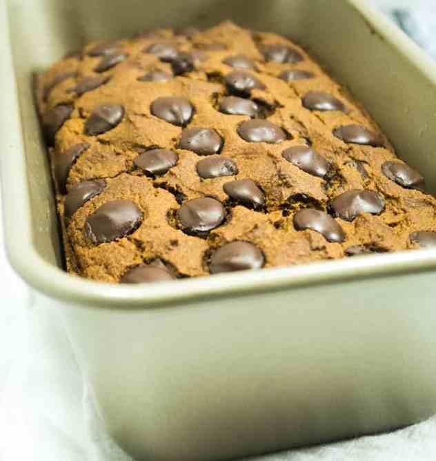 Chocolate Chip Pumpkin Bread (Gluten Free)
