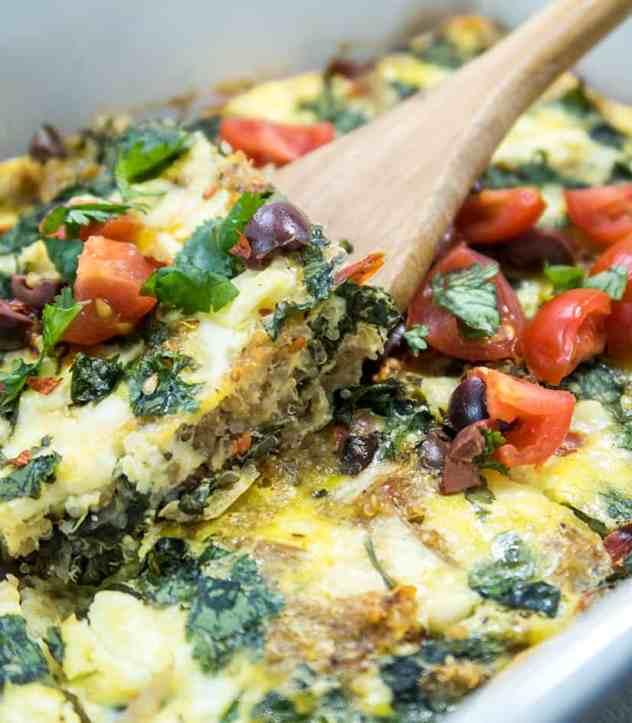 Mediterranean Quinoa Breakfast Casserole