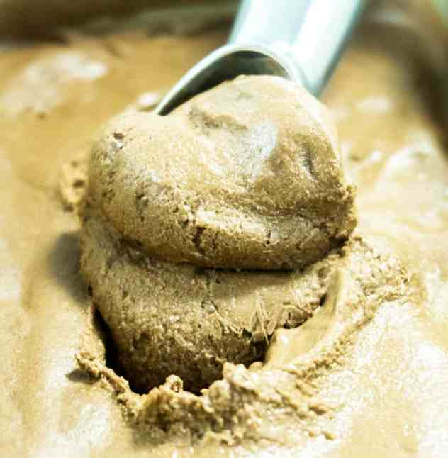 4 Ingredient Chocolate Cashew Butter Nice Cream
