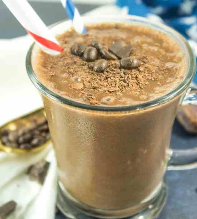 Mocha Coffee Smoothie (Vegan & Gluten Free)
