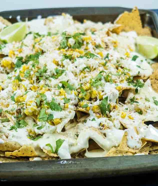 Mexican Street Corn Nachos (Gluten Free)
