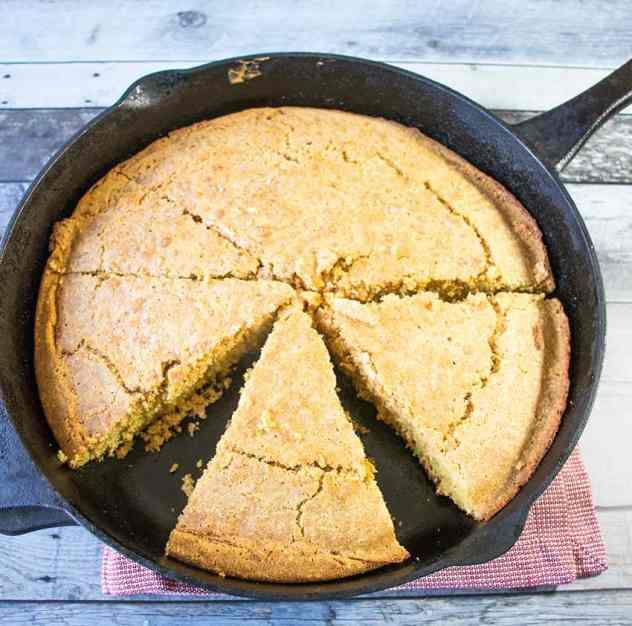 Skillet Cornbread (Gluten Free)