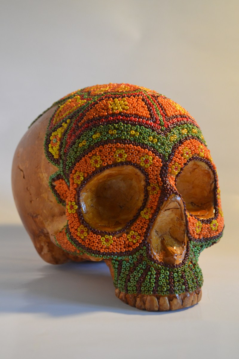 Day of the Dead  Sugarskull Artefact  Stephanies Art Blog