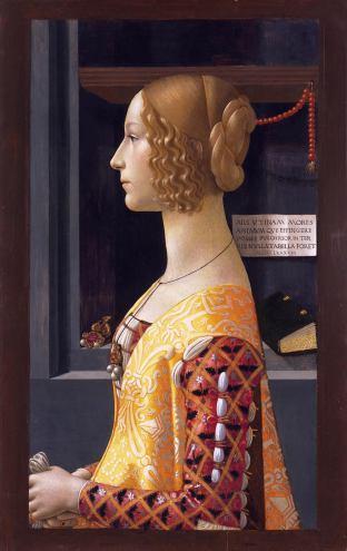 """Giovanna Tornabuoni"" by Domenico Ghirlandaio"