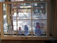 Stephanie's Crafts - Winter Painted Windows