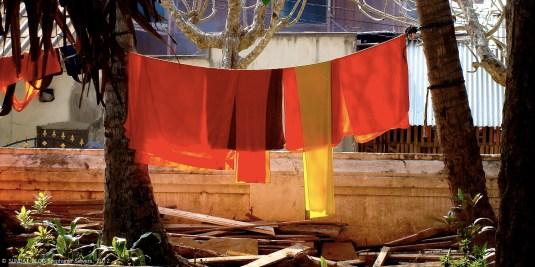 Monk colours, Cambodia