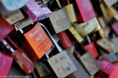 Cologne - Love Padlocks