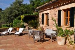 Finca Majorca: Terrace
