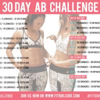 Sporten #4 | 30 Day Ab Challenge