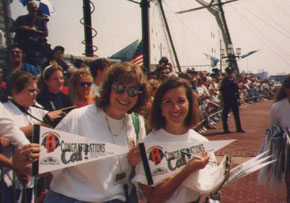 Working the Cal Ripken Parade Post 2131 with Stacey. Reflections of My Life In Baseball featured on Baseball Bard.