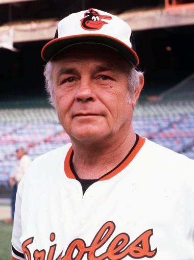 Earl Weaver. Photo credit: Orioles