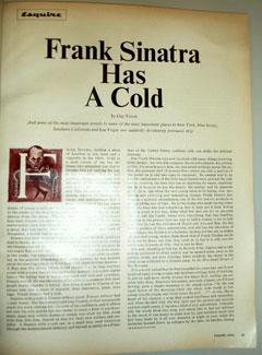 FrankSinatraHasACold