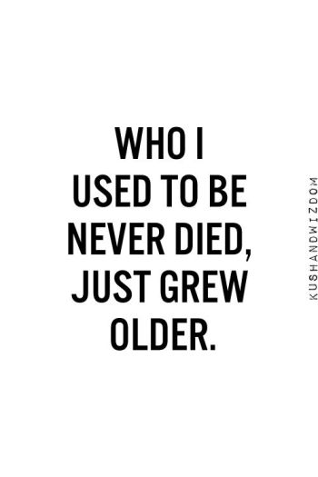 Who I Used To Be