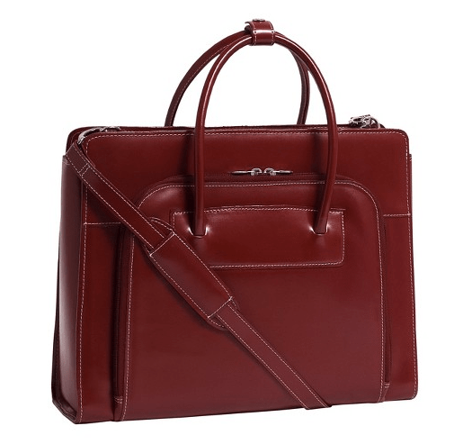Leather Briefcase with removable laptop sleeve | $96 | Target.com