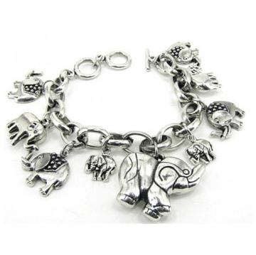Elephant Charm Bracelet, CLTradingMiami.com
