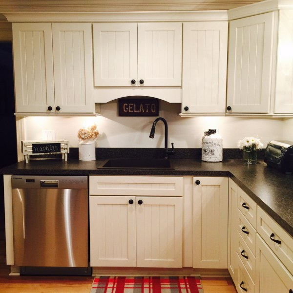 The countertops will be LG Minuet with a stainless steel undermount sink.