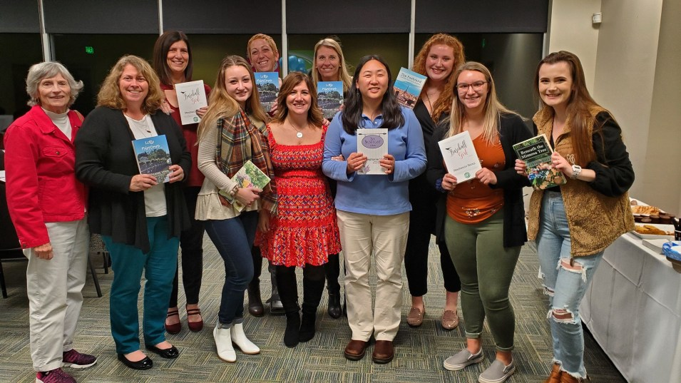 Kicking off National Novel Writing Month at Stevenson University with a wonderful group of people - Launched Little Milestones, which I started writing last year during NaNoWriMo.