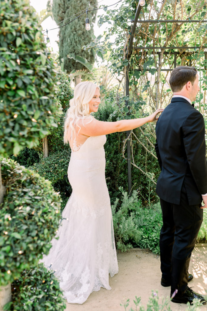 First look, Orange County Wedding Photographer, Stephanie Weber Photography. - stephanieweberphotography.com