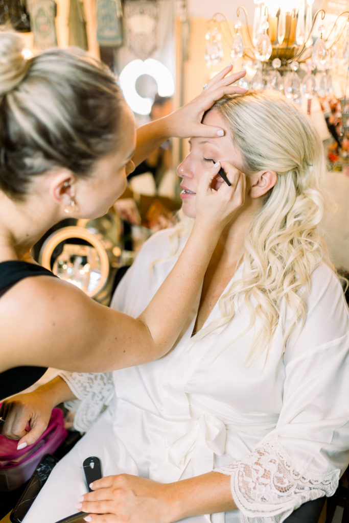 Bridal makeup, Orange County Wedding Photographer, Stephanie Weber Photography. - stephanieweberphotography.com