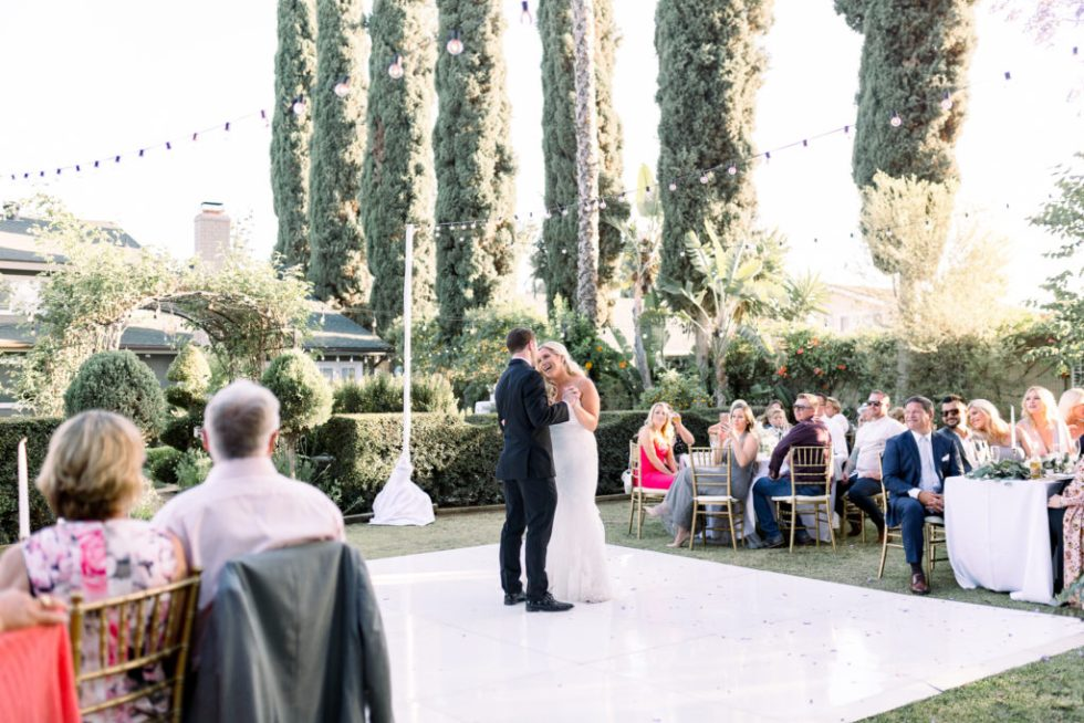 First dance, Orange County Wedding Photographer, Stephanie Weber Photography. - stephanieweberphotography.com