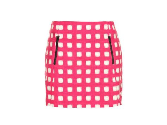 Get the look... DON'T WEAR: over-the-knee socks. DO WEAR: Do wear: a bright checked miniskirt for instant Betty status. Check miniskirt, £34, Topshop