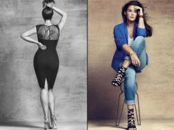 Violeta by Mango > She's a busy girl, that Robyn Lawley - the size 16 model also starred in the Violeta by Mango campaign when the Spanish label launched the plus-size label at the end of last year (the rather gorgeous curves on the left belong to her). 'I loved Mango anyway, but sometimes their items don't fit so well,' says Philomena. She adds: 'I've ordered a few items. I can't wait to try them on and check out the quality and fit!' Watch this space.